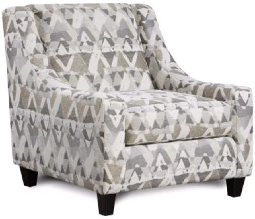 Accent Chair, Mountain View Cement
