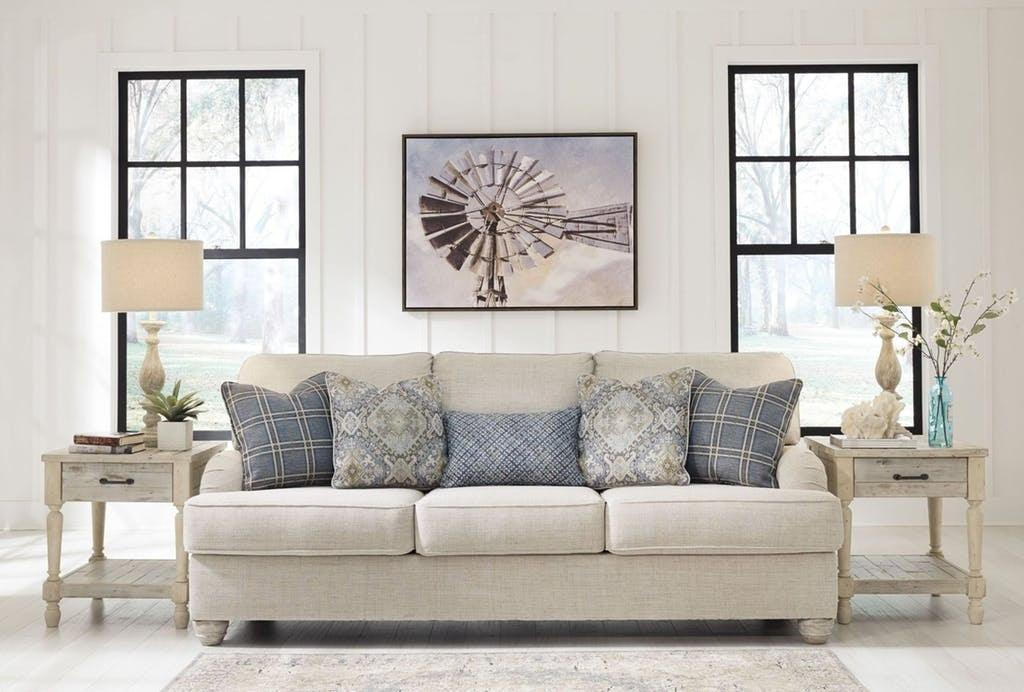 Sofa, Linen