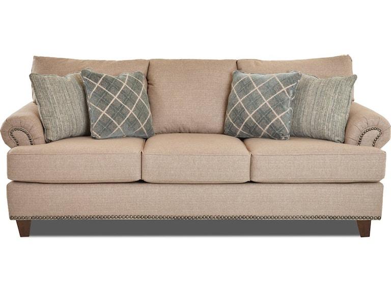 Simple Elegance Living Room Sofa Hercules Stone 829471 At Furnitureland