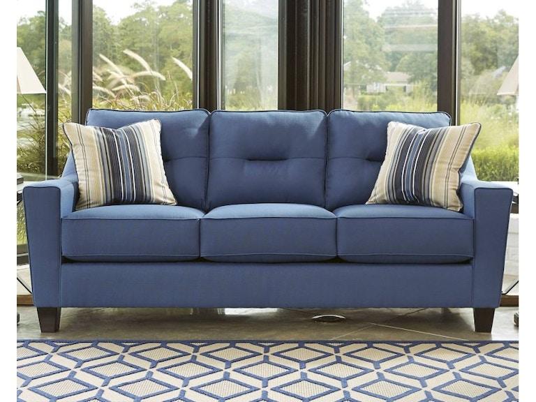 Ashley Queen Sleeper Sofa Blue 841124