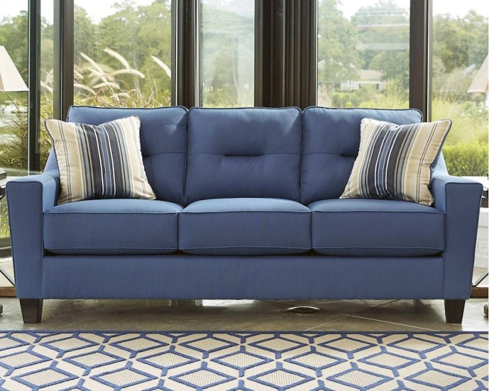 Queen Sleeper Sofa, Blue