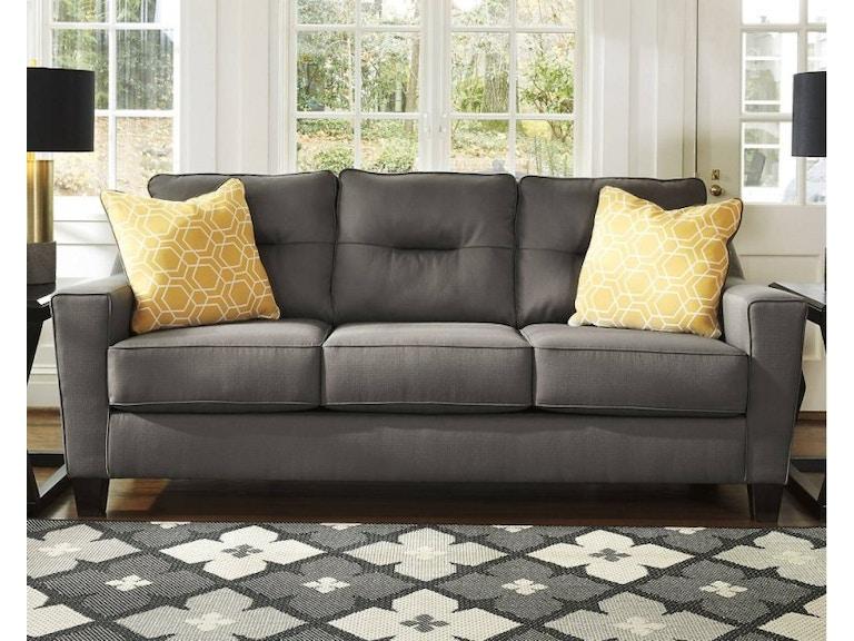 Ashley Queen Sleeper Sofa Gray 841126
