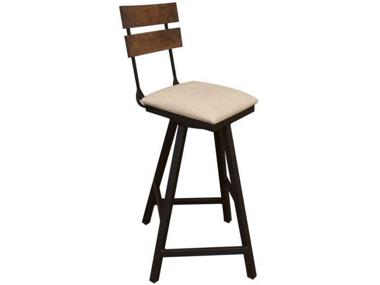 Groovy Upholstered Swivel Barstool 30 Inzonedesignstudio Interior Chair Design Inzonedesignstudiocom