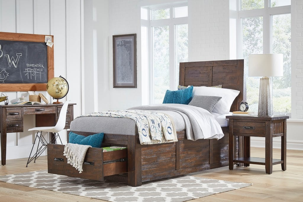Twin Bed Set | Twin Bed, Dresser, and Mirror