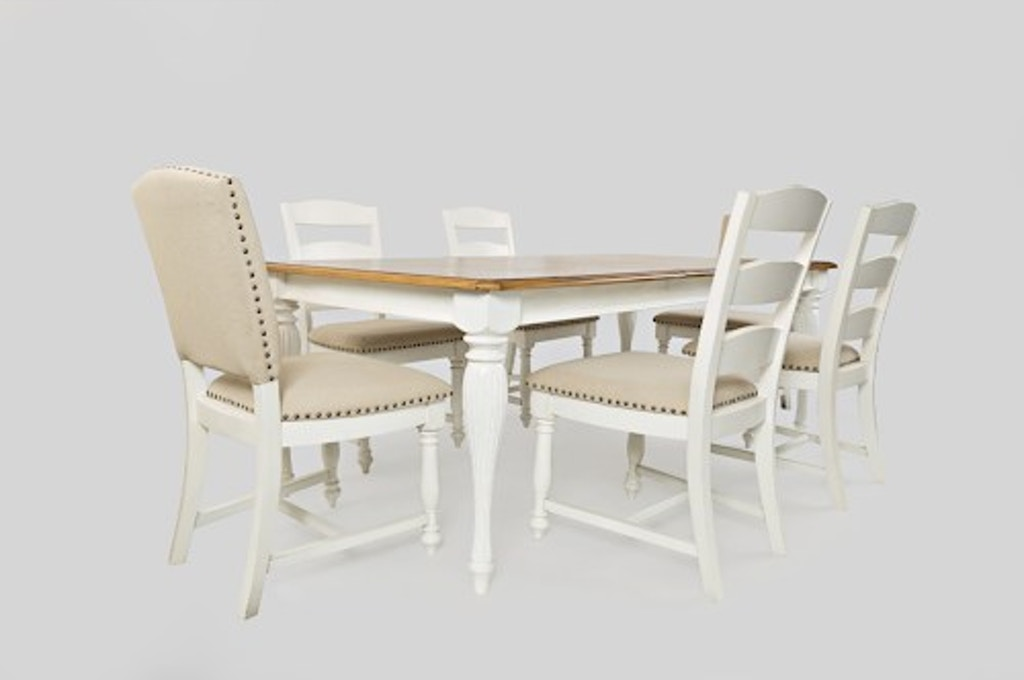 Jofran Dining Room Table And Four Chairs Pkg 17861 Furnitureland