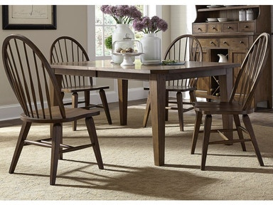 Liberty Table & 4 Chairs PKG-382
