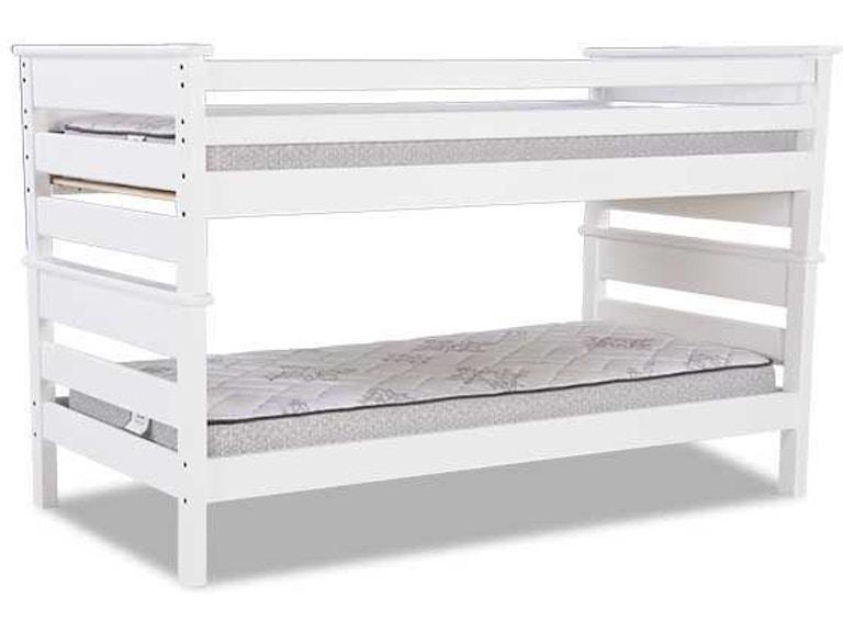 Trendwood Youth Bunk Bed Full Over Full American Chestnut Pkg
