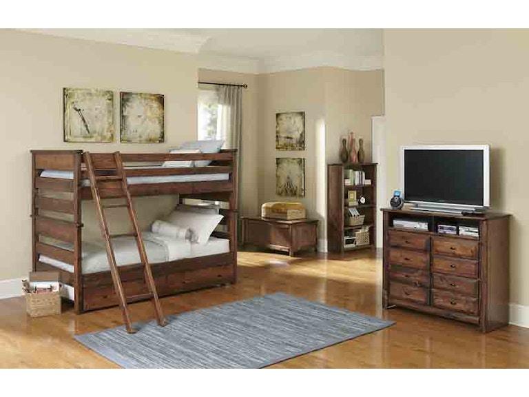 Trendwood Youth Bunk Bed Twin Over Twin Pkg 4525tt Furnitureland