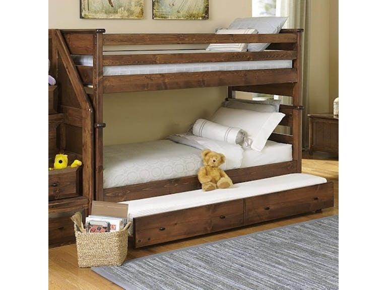 Trendwood Youth Bunk Bed Twin Over Twin Pkg 452 Furnitureland