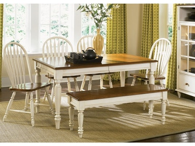 Liberty Table & 4 Chairs PKG-79