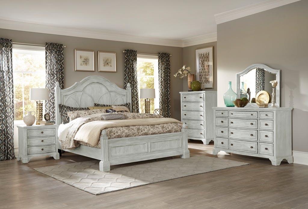 Queen Bed Set | Queen Bed, Dresser, Mirror