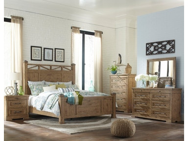 simple elegance king bed pkg 927k