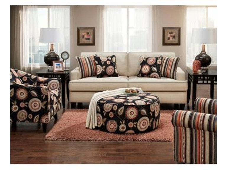 Sofa, Accent Chair, Ottoman