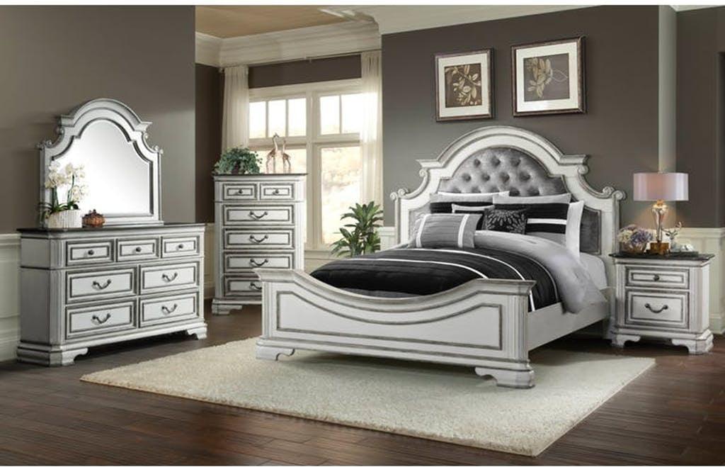 Enjoyable Queen Bed Set Queen Bed Dresser Mirror And Nightstand Interior Design Ideas Tzicisoteloinfo