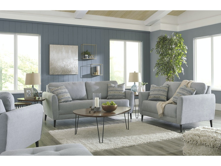 Signature Design By Ashley 5 Piece Living Room Set Sofa Chair