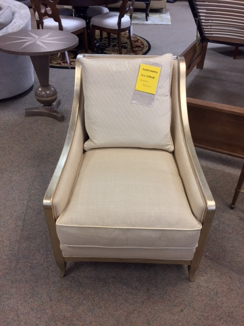 Clearance Caracole Social Butterfly Accent Chair   MSRP: $2539.  Uph Chalou 02a