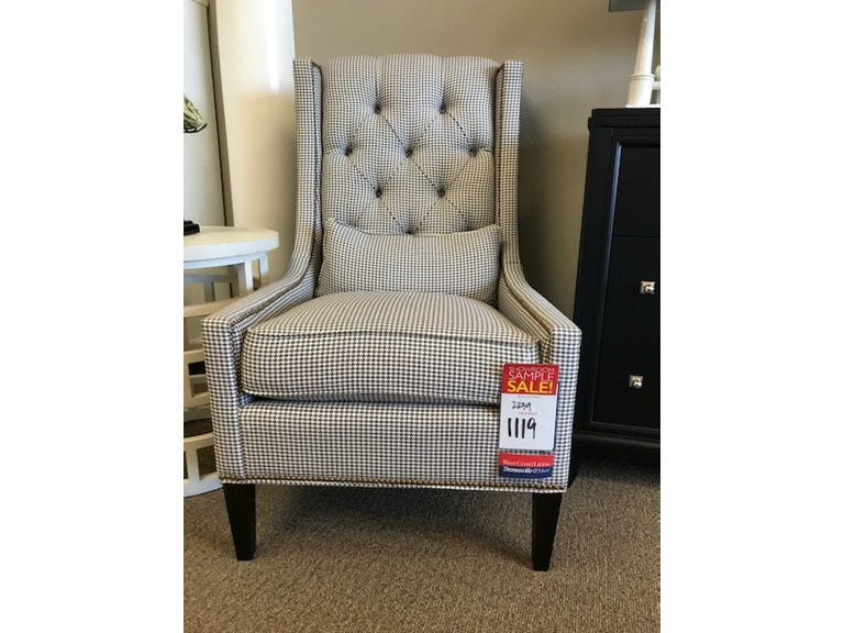 Thomasville Living Room Upholstery Chandler Wing Chair 2241 15