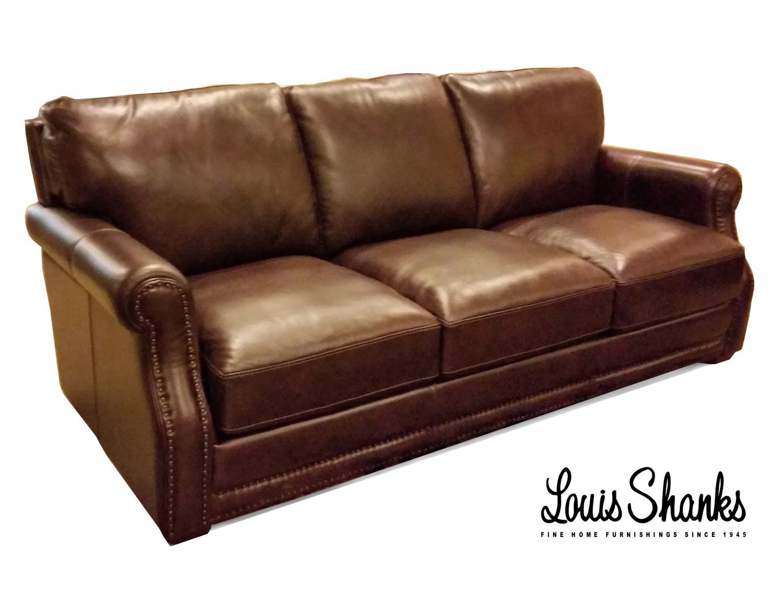 Flexsteel Chandler Leather Sofa 1365 31