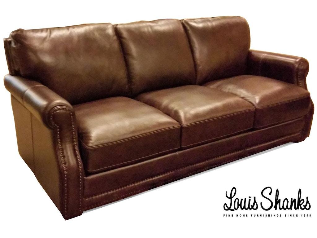 Flexsteel Living Room Chandler Leather Sofa 1365 31