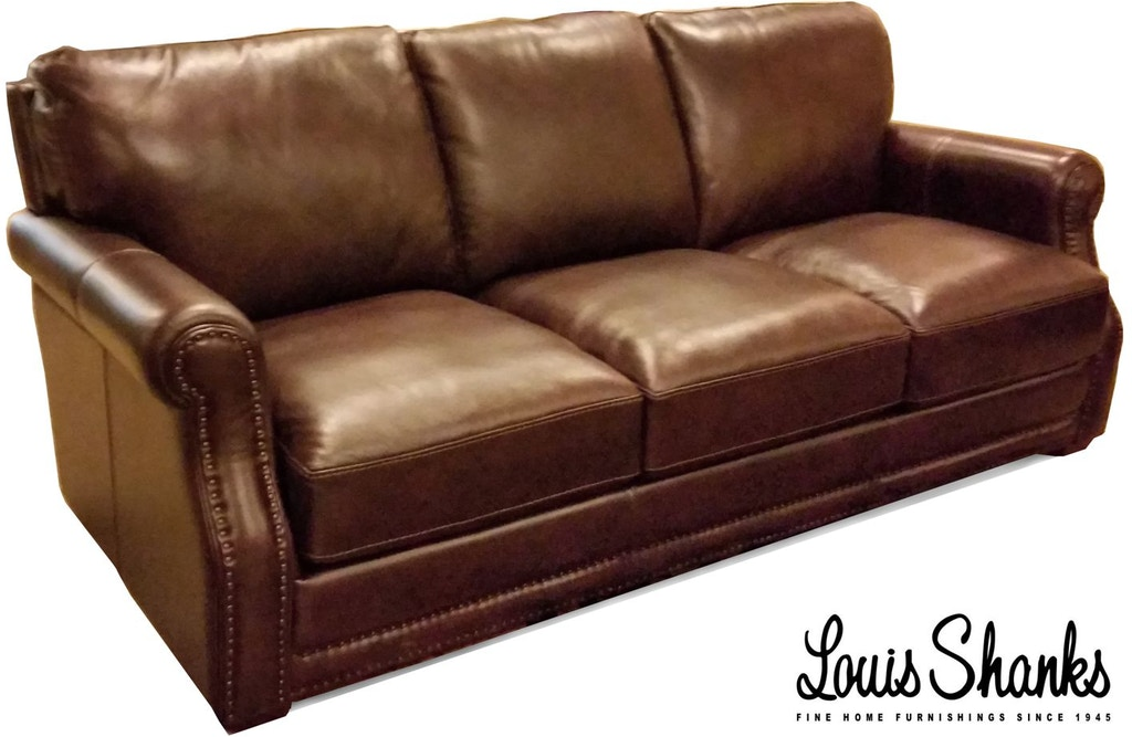 Flexsteel Living Room Chandler Leather Sofa 1365-31 - Louis Shanks ...