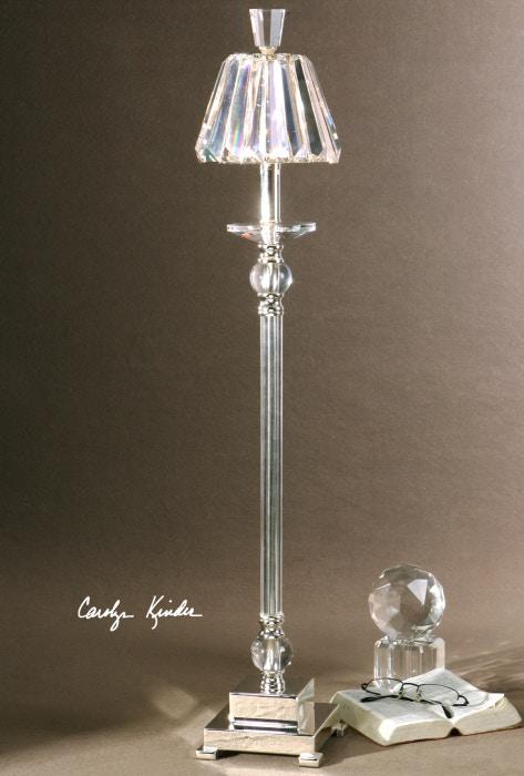 uttermost buffet lamps rustic uttermost kalena crystal buffet lamp 298451 accessories louis