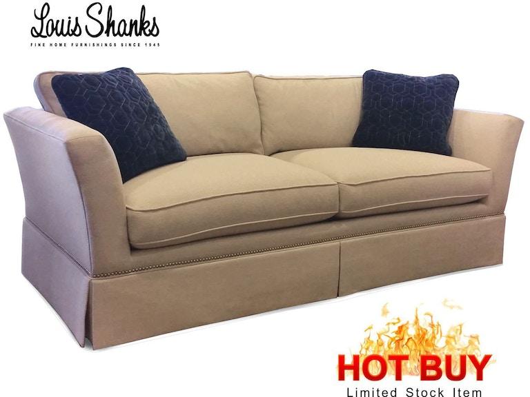 Sherrill Furniture Living Room Clarksburg Sofa 3143 3 Hb Louis