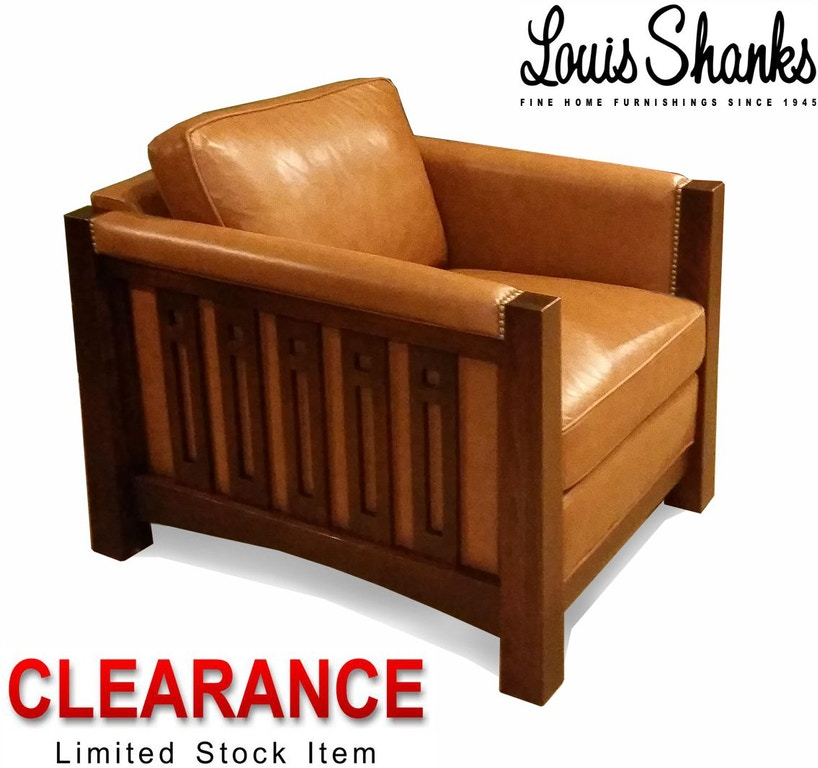 Stickley Living Room Clearance Highlands Chair 89 9800 Ch Cl At Louis Shanks