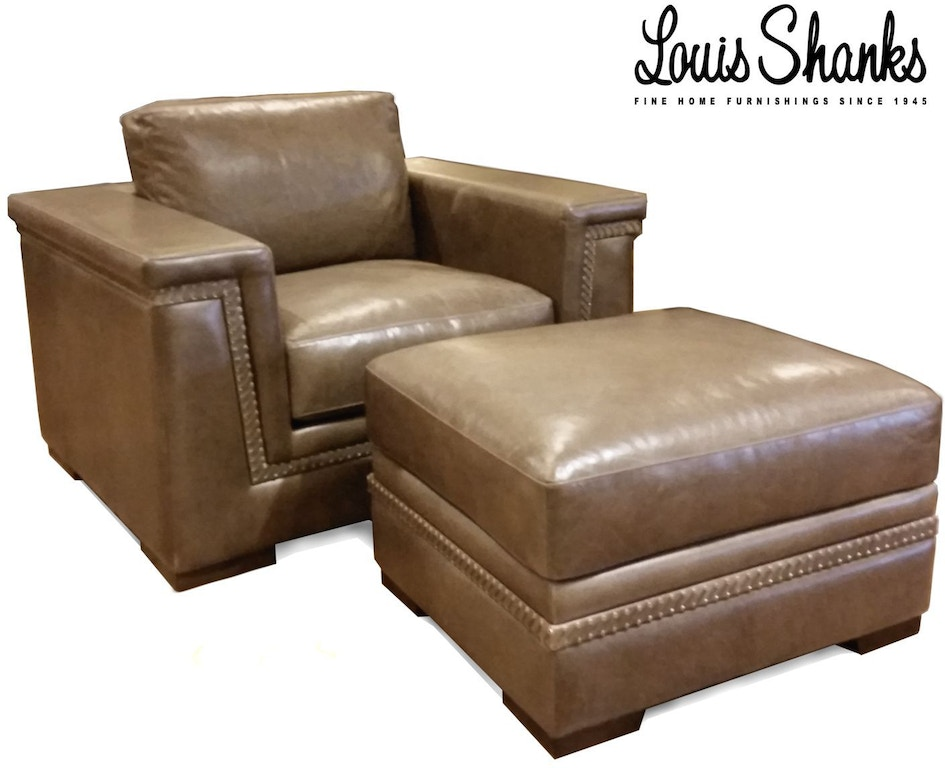 Cool Chair And Ottoman Set With Hand Lacing Gmtry Best Dining Table And Chair Ideas Images Gmtryco