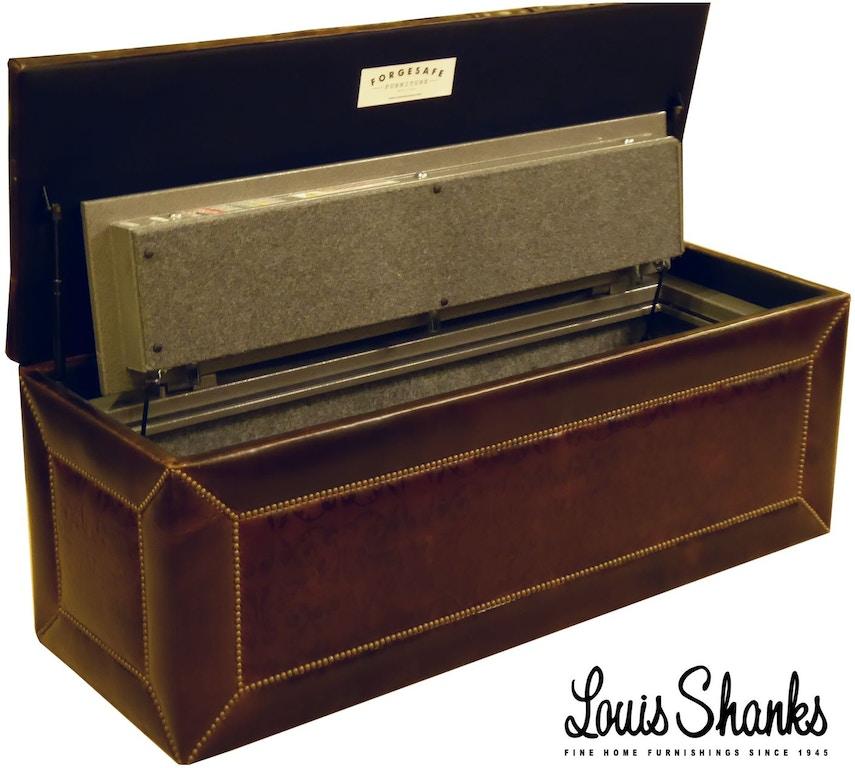Enjoyable Leather Storage Bench With Gun Safe Inzonedesignstudio Interior Chair Design Inzonedesignstudiocom