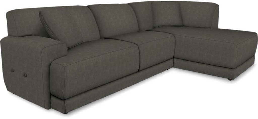 2 PIECE SECTIONAL 2880-23 RAF SOFA AND 2880-06 LAF CHAISE