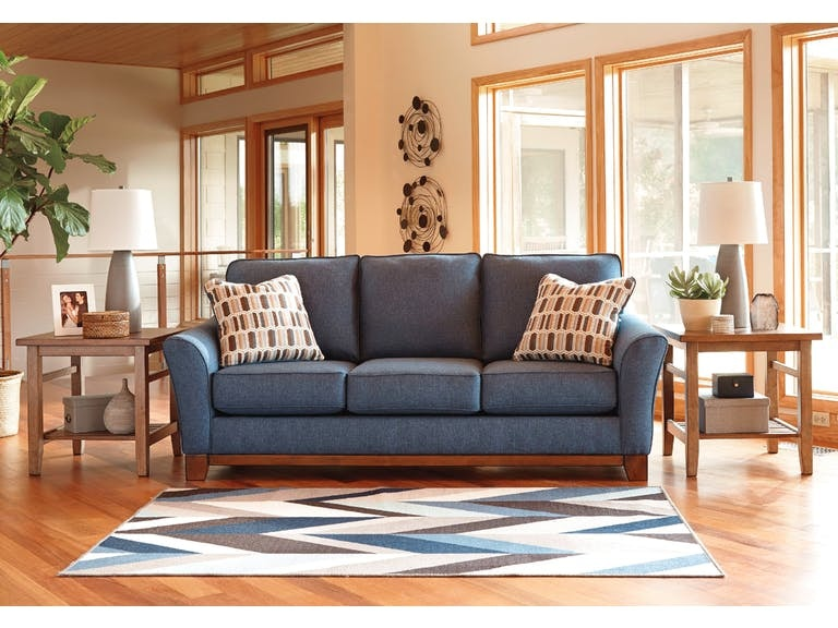 Signature Design By Ashley 7 Piece Living Room Set 43807 7 Piece Living  RoomFABRICS/FINISHES