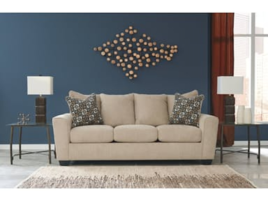 Signature Design By Ashley 5 Piece Living Room Package 57003