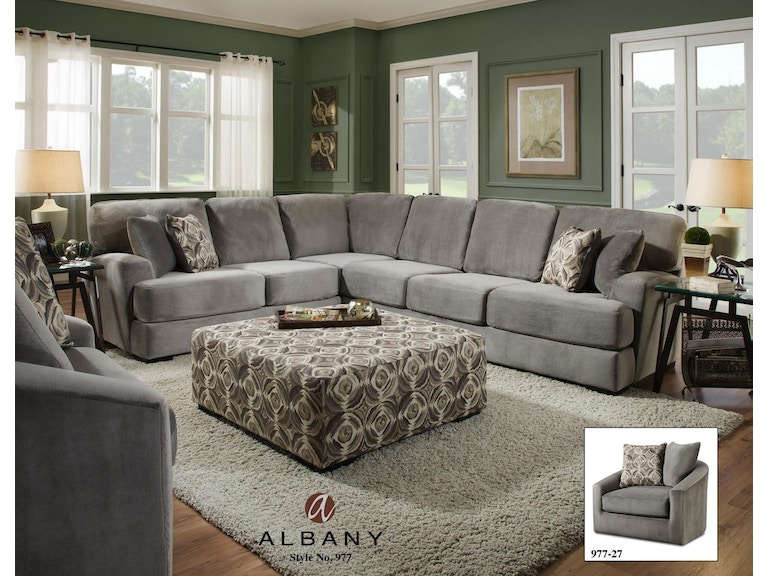 Albany Living Room Swivel Chair 977 27 At Feceras Furniture Mattress