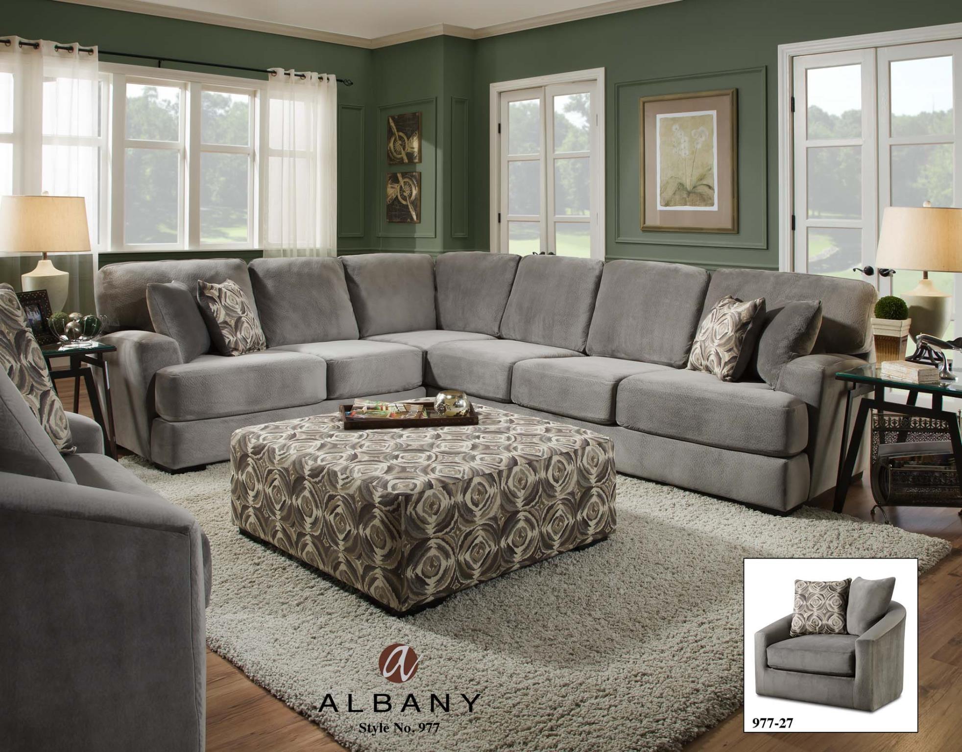 Captivating Albany Living Room SWIVEL CHAIR 977 27 At Feceras Furniture U0026 Mattress