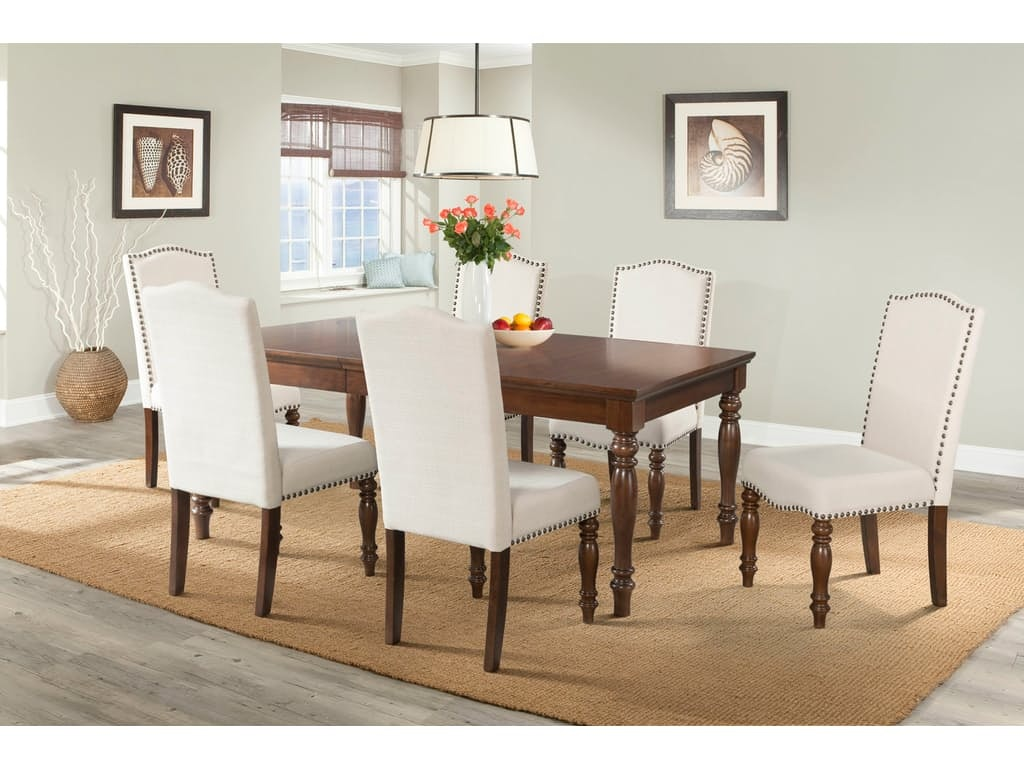 Elements Dining Room TABLE AND 4 SIDE CHAIRS DCH555DT555XSC