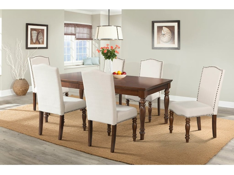 Elements Dining Room Table And 4 Side Chairs Dch555dt 555xsc