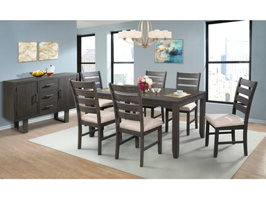 Elements Dining Room TABLE AND 4 SIDE CHAIRS