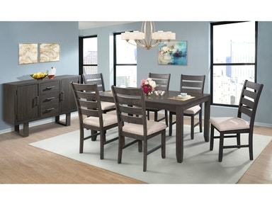 Elements Dining Room TABLE AND  SIDE CHAIRS DSWDTSC - Dining room side chairs
