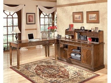 H527 Desk W Hutch