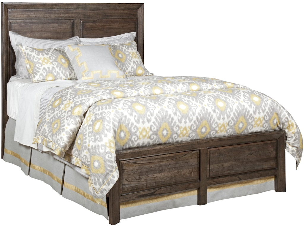 Bedroom kincaid furniture queen panel bed a84130f h 305 for Kincaid furniture