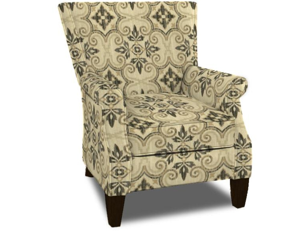 Cozy life accent chair 473121 talsma furniture for Cozy accent chair
