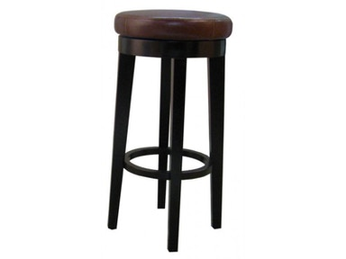 New Pacific Direct Leather Swivel Stool 354233