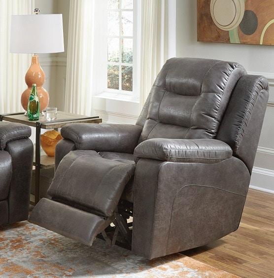 Palliser Furniture Power Recliner With Power Headrest And Lumbar