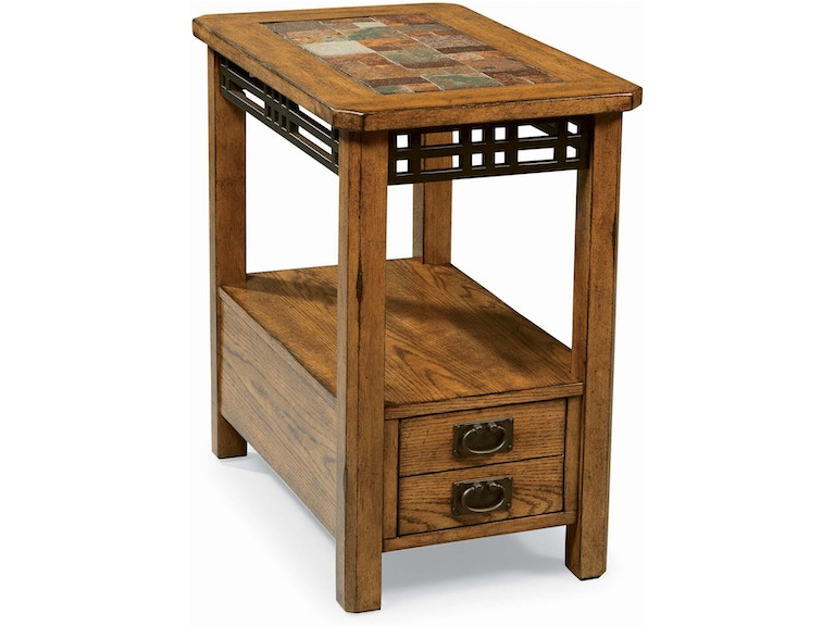 Peters Revington American Craftsman Chairside End Table 563626
