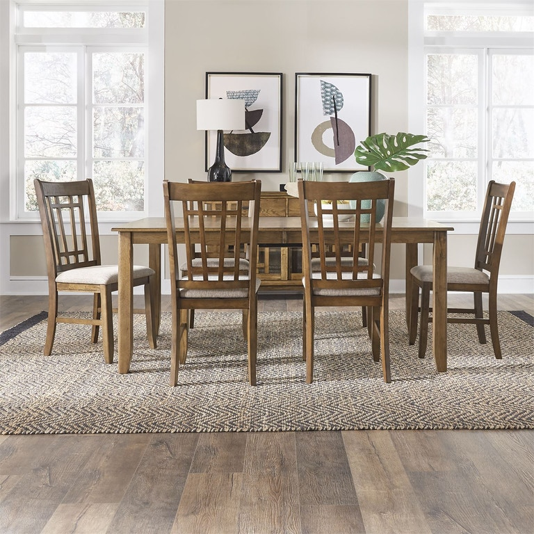 Liberty Furniture Dining Table And Four Chairs 973886 Talsma Furniture Hudsonville Holland