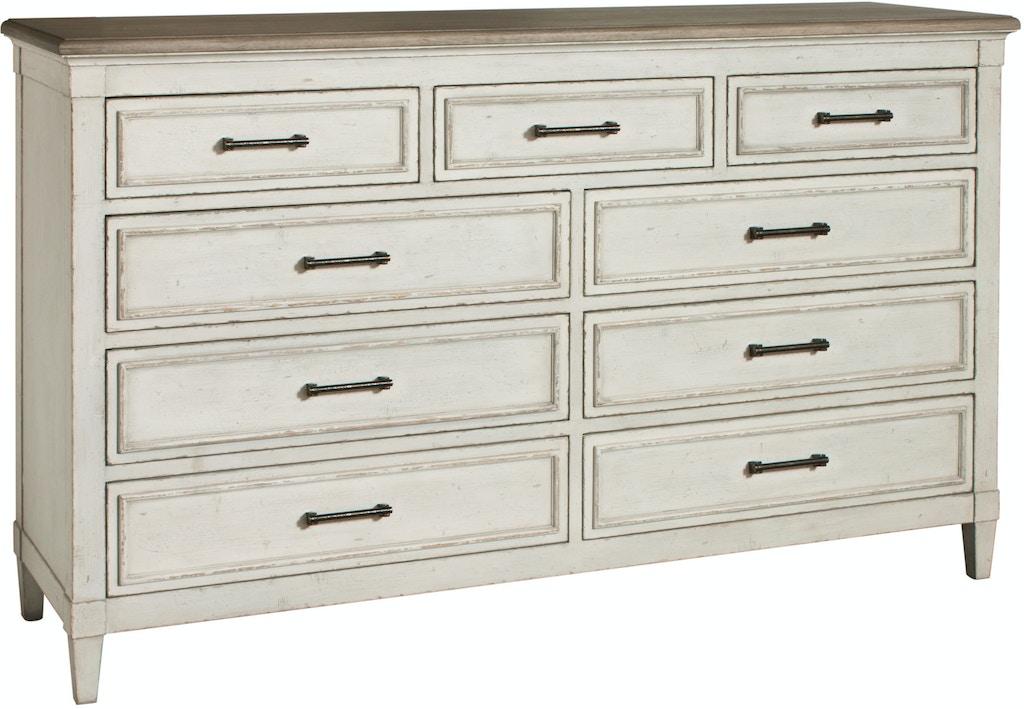 Bassett Bella 9 Drawer Dresser 742802 Talsma Furniture Hudsonville Holland Byron Center