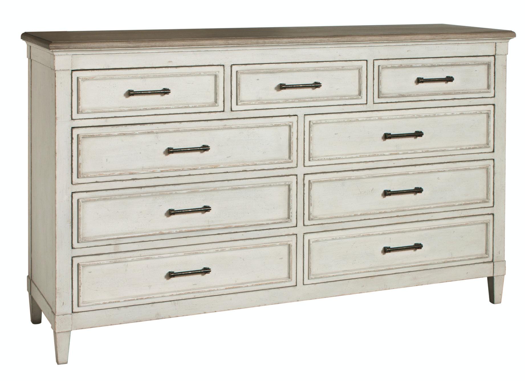 bassett bella 9 drawer dresser