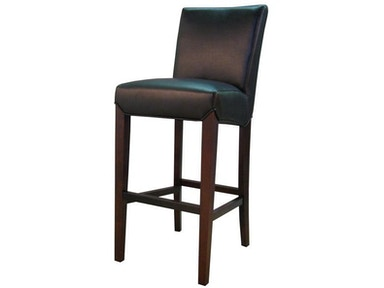 New Pacific Direct Black Bonded Leather Counter Height Stool 297848