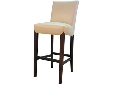 New Pacific Direct Cream Bonded Leather Counter Height Stool 219993