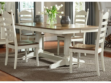 Liberty Furniture Dining Table And 4 Side Chairs P665634